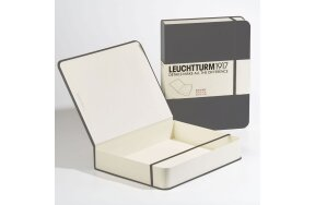 BOOK BOX LEUCHTTURM ANTHRACITE